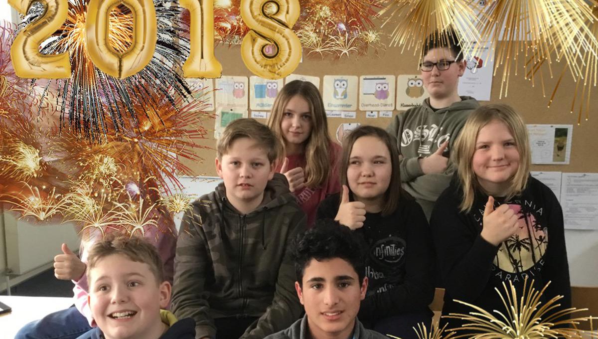 Alles Gute in 2018!