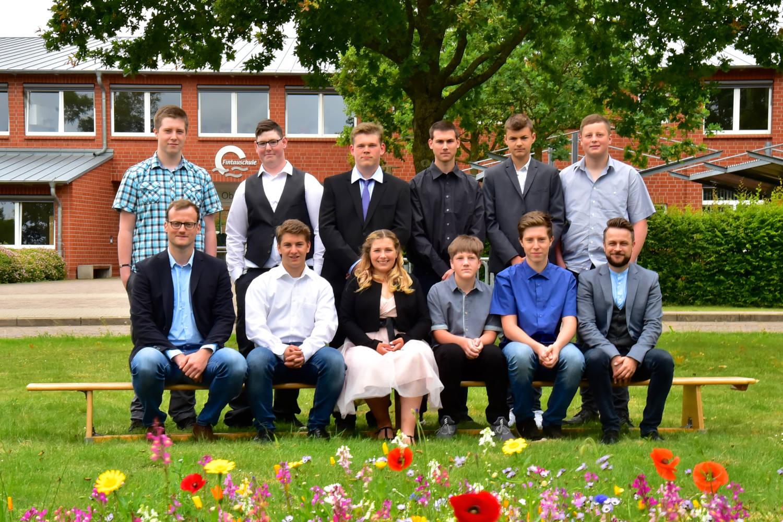 Abschlussklasse 9 - Herr Kapteina/Herr Hermsdorf