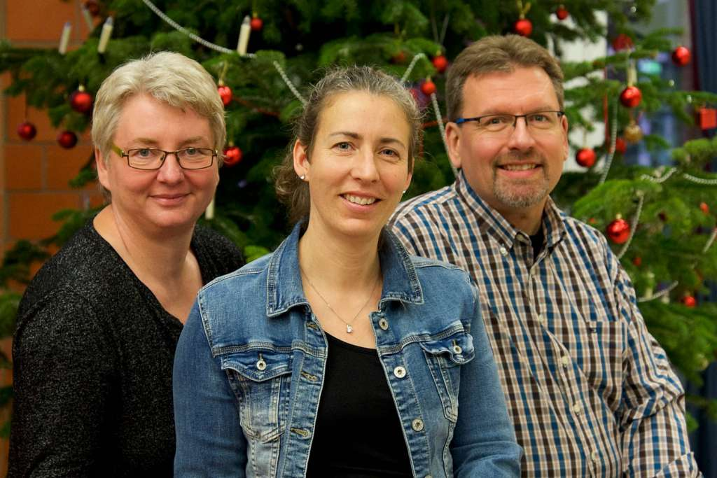 (v.l.) Susanne Beddies, Nicole Meyer, Christian Schulz