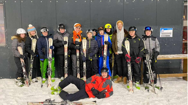 Ski AG mit Joko