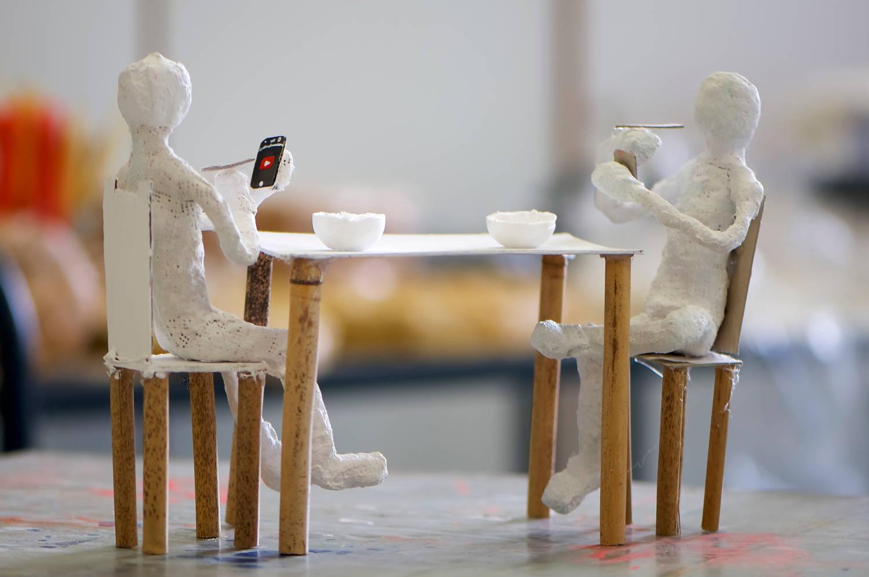 """Noah-Immanuel Klose und Jan-Revyson Zeitzmann - """"Kommunikation beim Frühstück"""""""